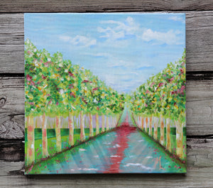 "#3 - ""Road to Anywhere"" 14 x 14"