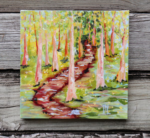 "#1 - ""Vanishing Path"" 10 x10"