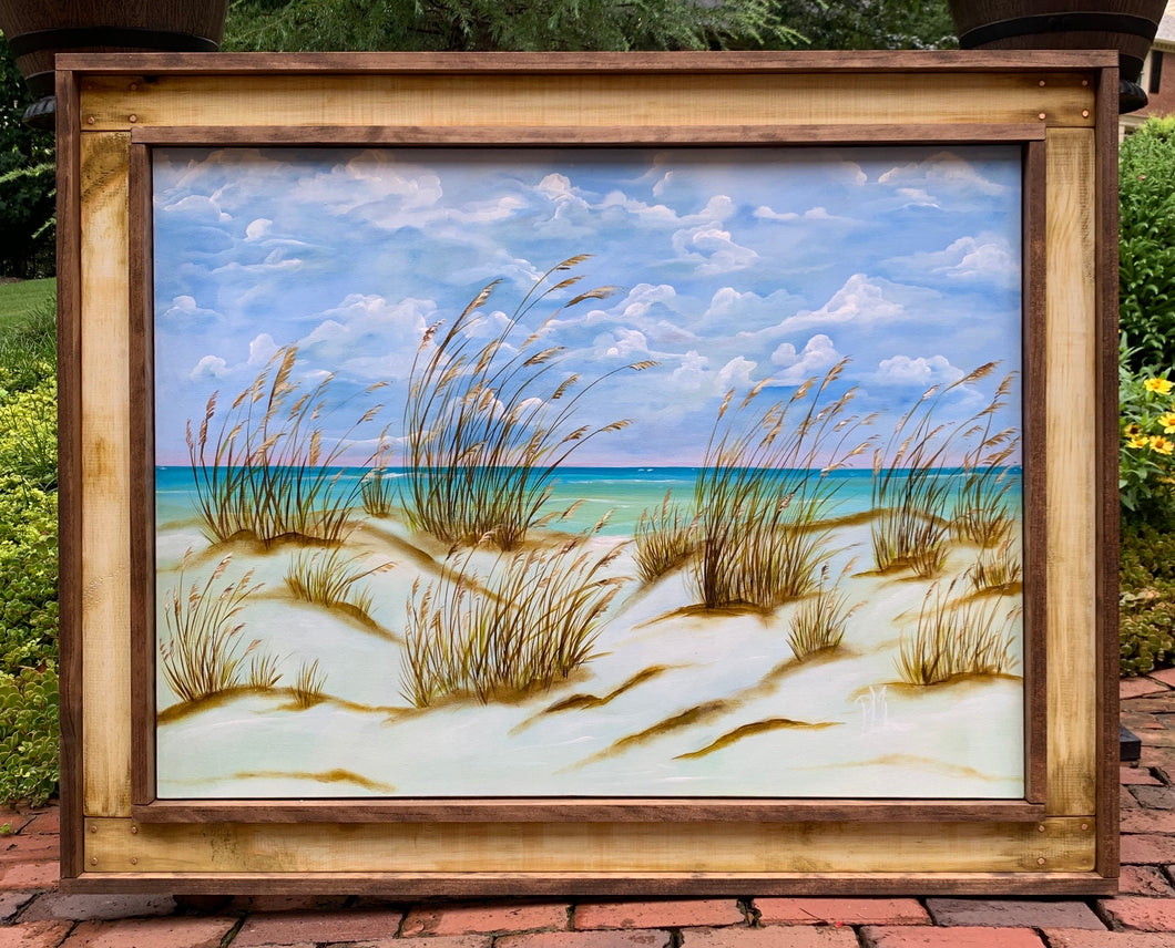 """Salty Seaoats"" - 48.4"" x 38.4"""