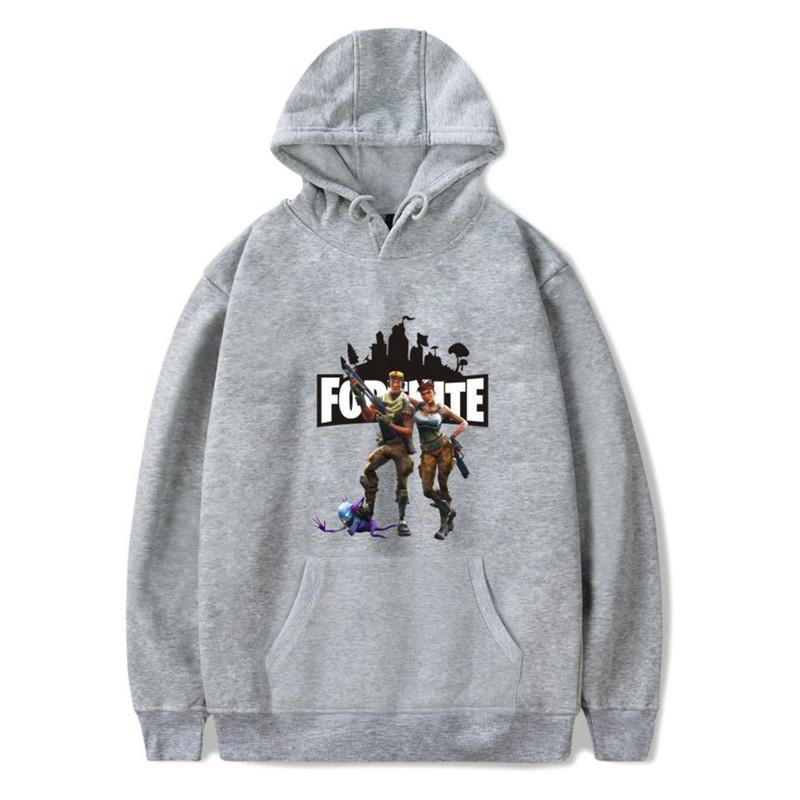 Inspired by Fortnite Pullover Hoodie Sweatshirts