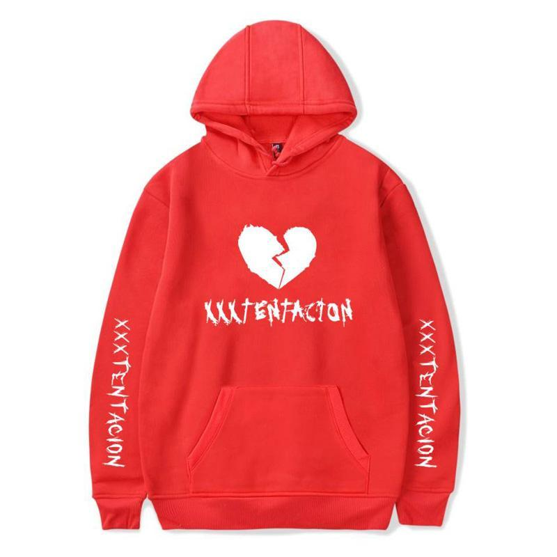 Inspired by Sweatshirt Broken Heart Printed Hoodie