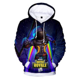 Inspired by Fortnite  Sweatshirt Unisex Blue Hoodie
