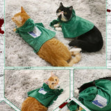 Inspired by Attack on the giant Cloak Shingeki No Kyojin Cosplay For Cat