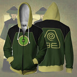 Avatar Hoodies - Dai Li Agents Zip Up Hoodie