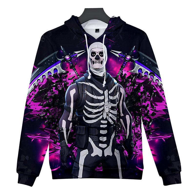 Inspired by Fortnite Hoodies Skull Trooper Sweatshirt