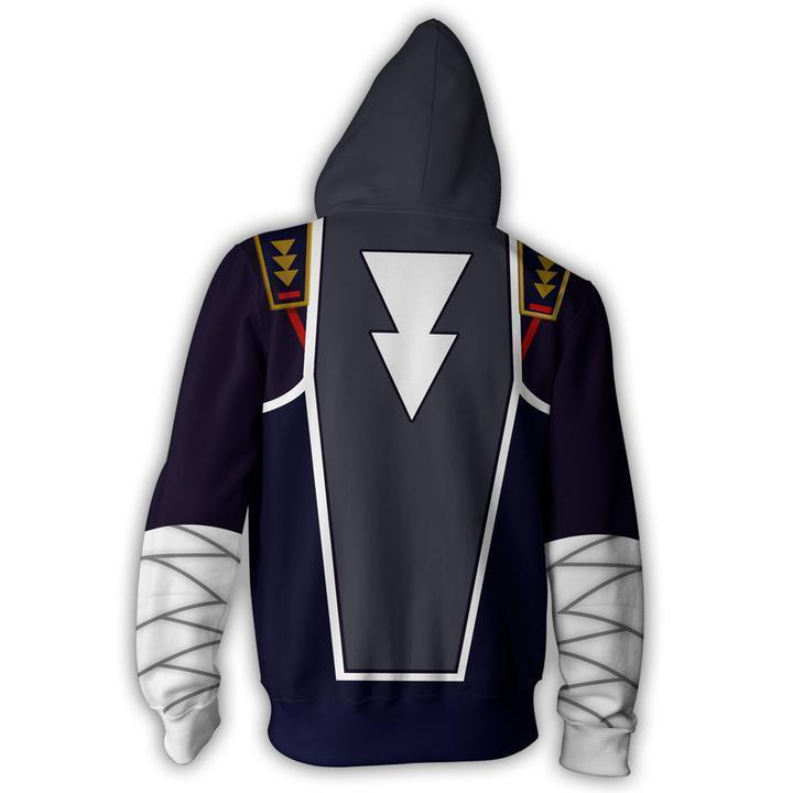The Legend of Zelda Hoodies - The Legend of Zelda Sheik Zip Up Hoodie