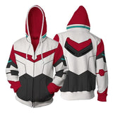 Voltron: Legendary Defender Hoodies - Paladin Keith Zip Up Hoodie