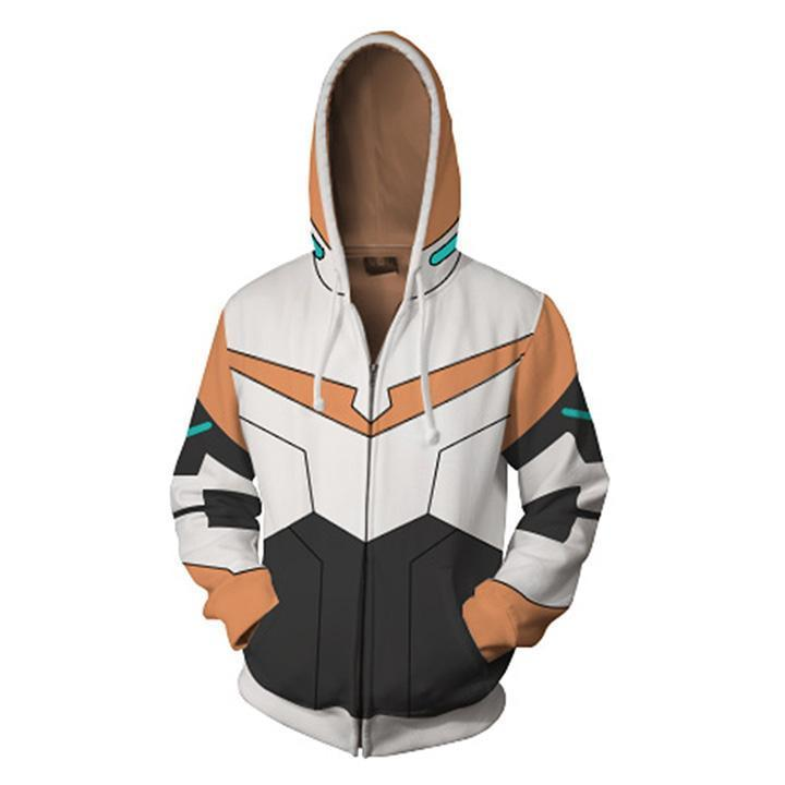 Voltron: Legendary Defender Hoodies - Paladin Hunk Zip Up Hoodie