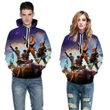 Inspired by Fortnite Soldier Sweatshirt 3D Youth Hoodie