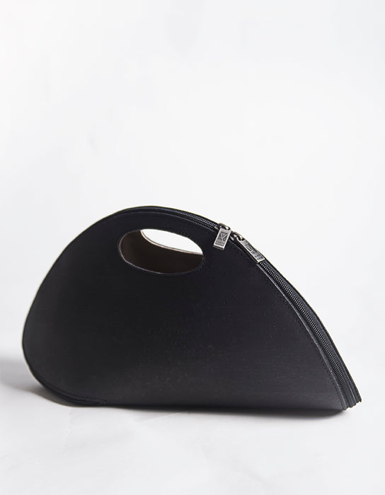 CORK SHELL Black Bag