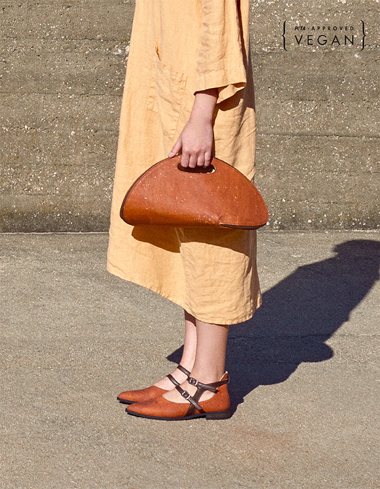 CORK SHELL Orange Bag