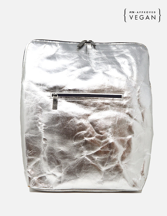Bogart Paper Backpack - Silver
