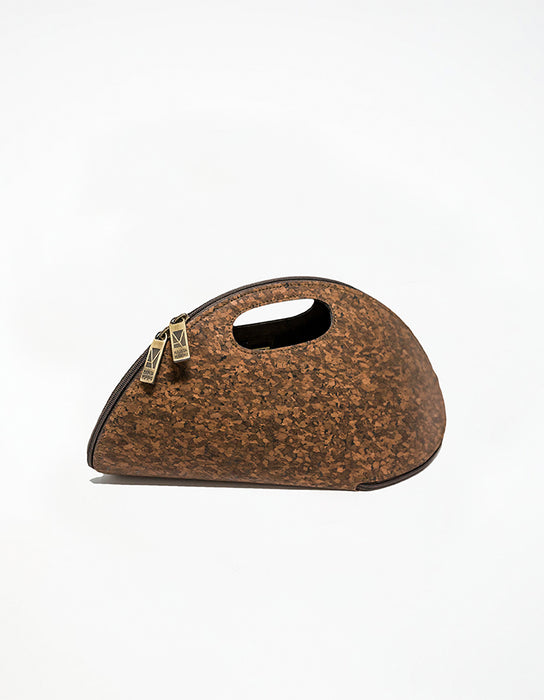 Cork Shell Dark Brown