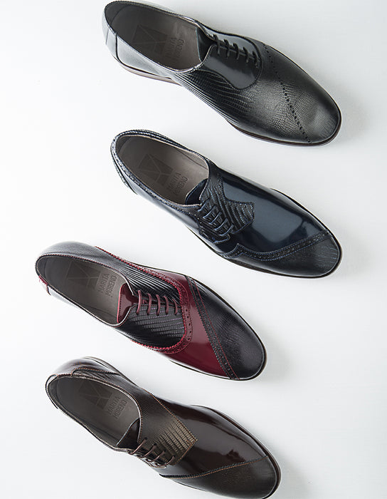 Dali Oxford Man Bordeaux & Black Shoes