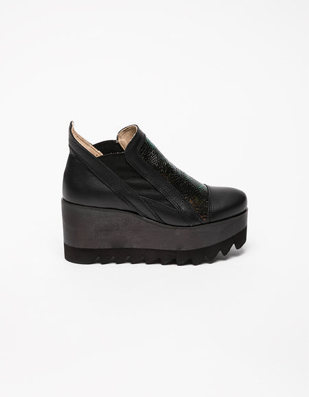 Dark Tower Iridiscent Ankle Boots