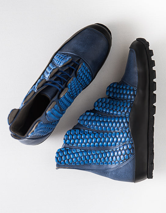 Enki Bastet Blue Sneakers