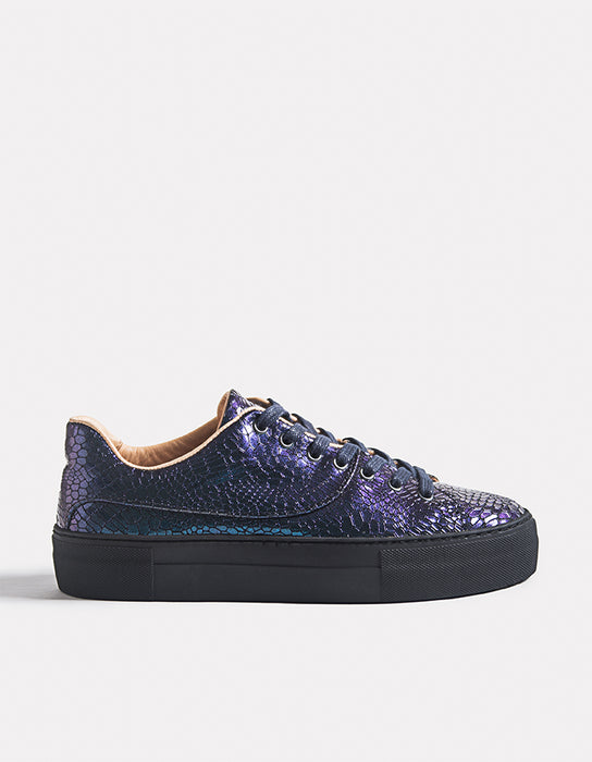 Laureline Chameleon Bioleather Sneakers