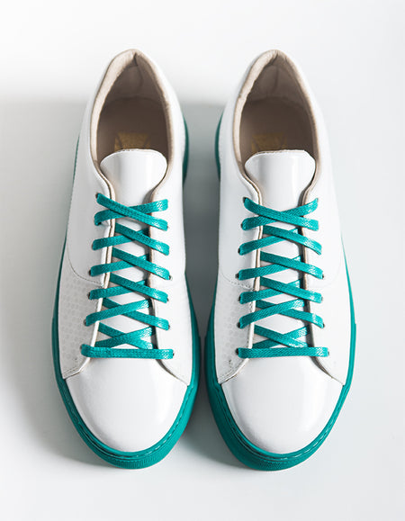 Laureline White Vegan Sneakers