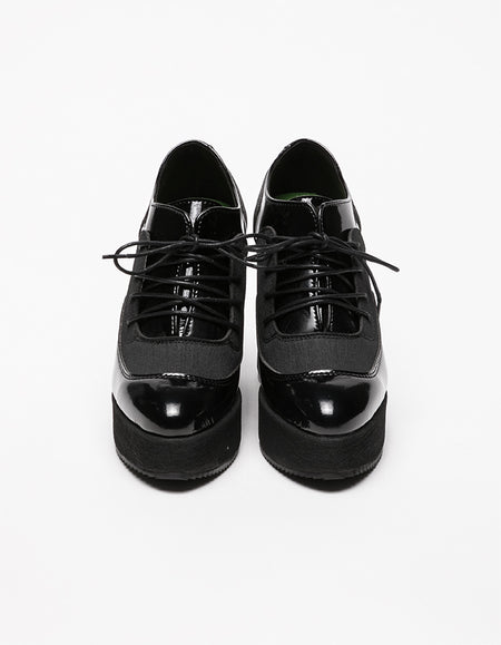Magrite Black Varnish & Asphalt Shoes