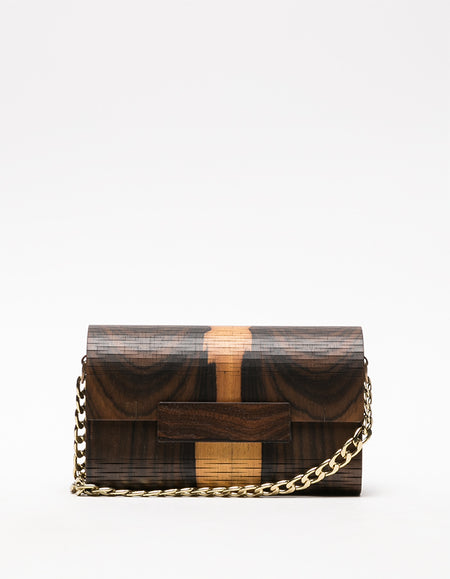 Wooden Moore - Dark Brown & Camel