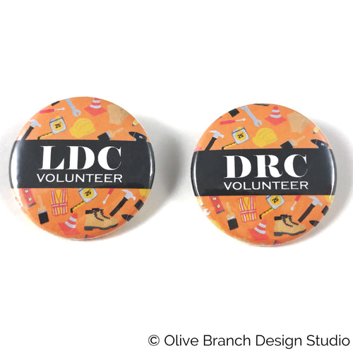 JW DRC Disaster Relief LDC Local Design Committee Pins