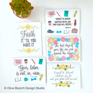 Encouragement Pack - 10 Cards
