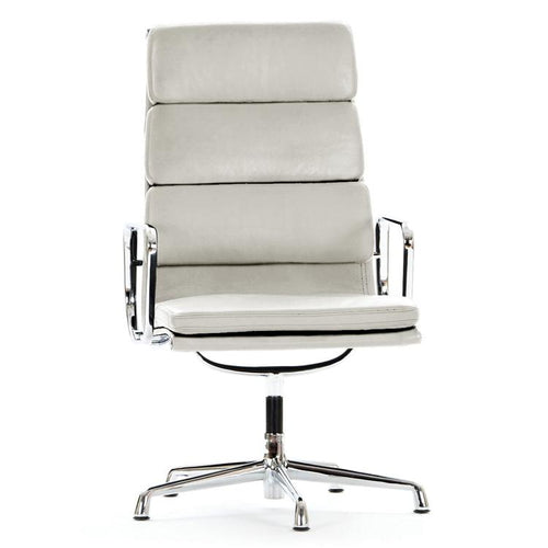 office chair EA208 High back White