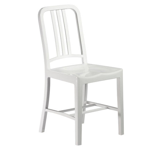 terrace chair Navy Chair Polypropylene PP white