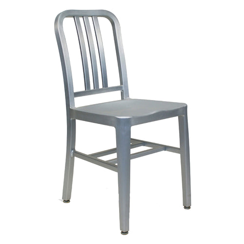 terrace chair Navy Chair Brushed Aluminum
