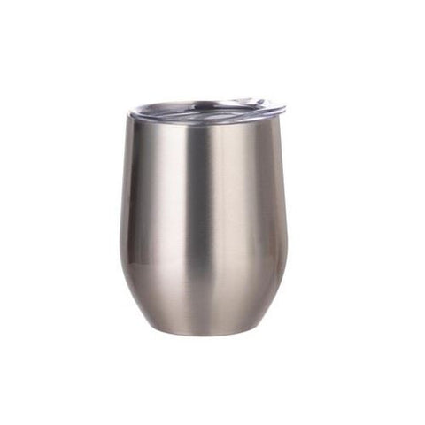 12 oz stainless Steel Stemless Wine Cup