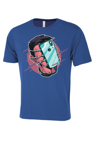 Phone Facehugger Graphic Tee