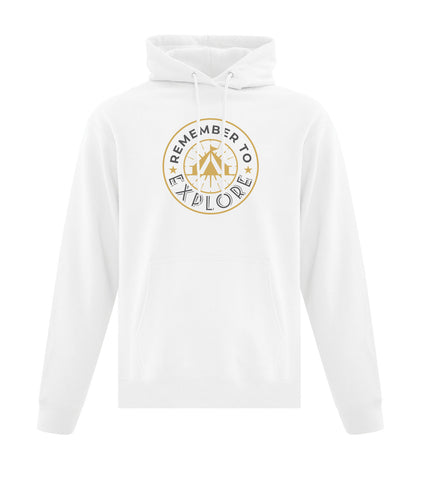 Remember to Explore Hooded Sweatshirt