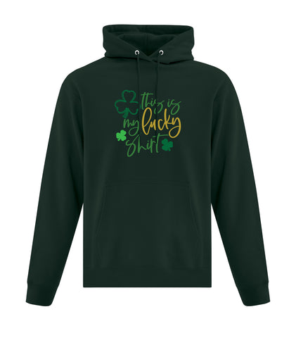This Is My Lucky Shirt Hooded Sweatshirt