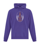 Vintage Space (Oval Design) Hooded Sweatshirt