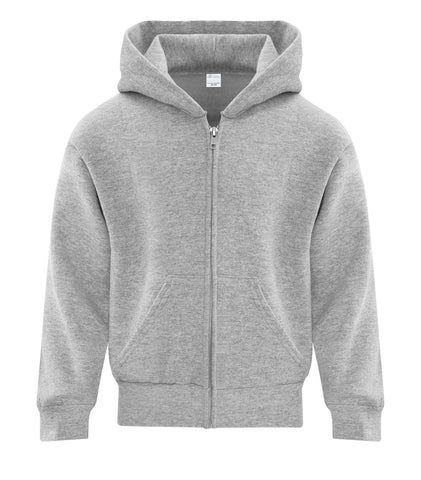 ATC™ EVERYDAY FLEECE FULL ZIP HOODED YOUTH SWEATSHIRT