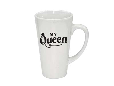 Queen 17oz Latte Mug