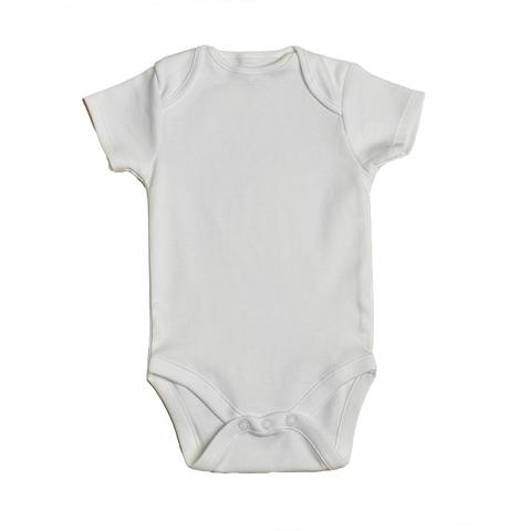 Short sleeve cotton onesie