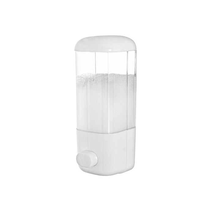 dispenser da muro in plastica 500 ml - doomostore