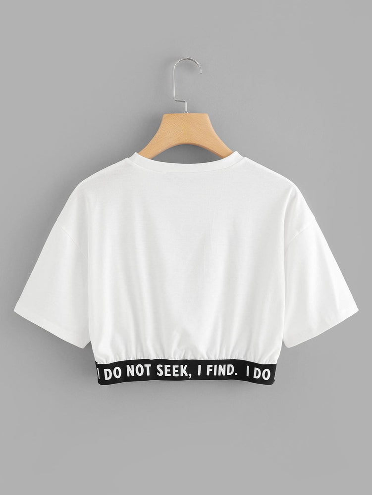 """The Future is Female"" Crop Top"