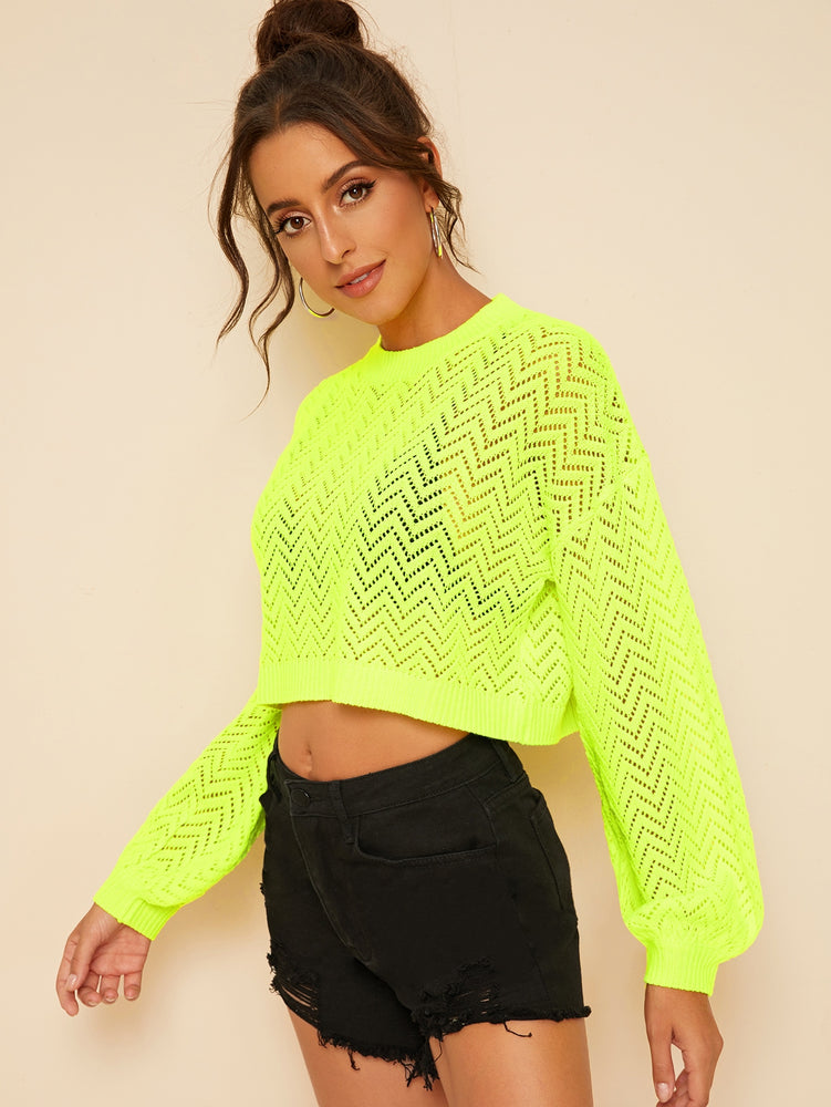 Neon Lime Sweater