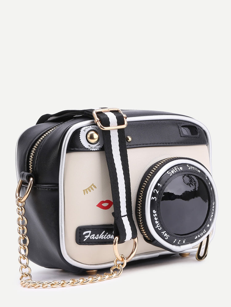 Camera Crossbody Bag