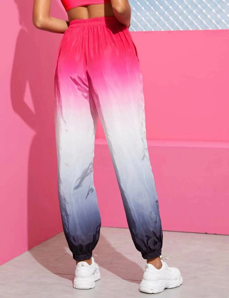 Ombre Hot Pink Cargo Pants