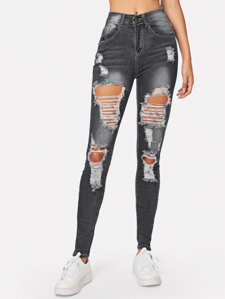 Every day Ripped skinny Jeans