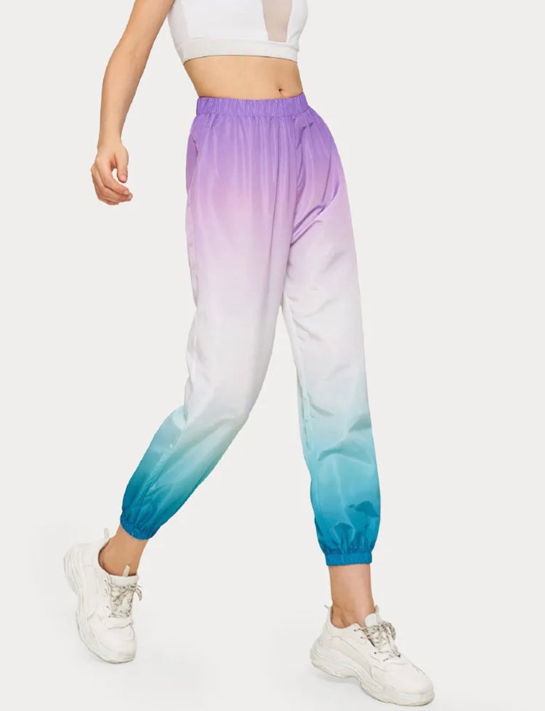 Ombre Cargo Pants