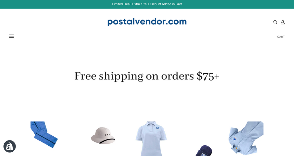 PostalVendor.com's new site redesign is live!