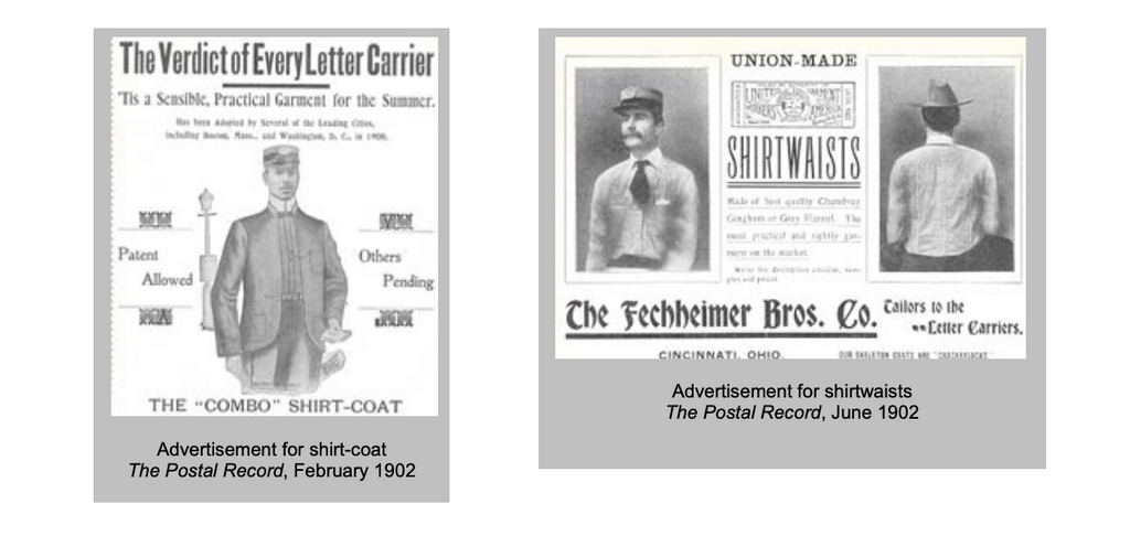 A brief history of postal uniforms for the USPS.