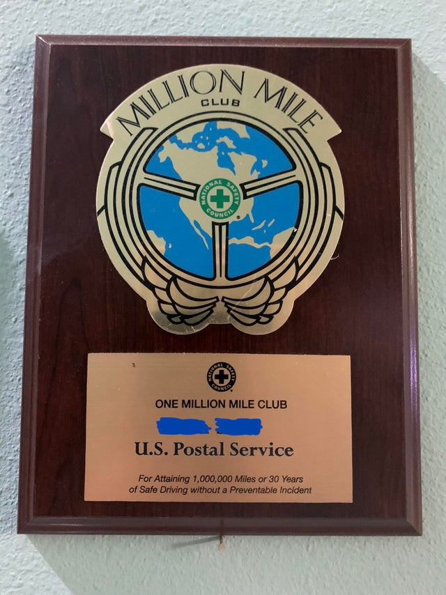 Things to Know About The USPS Million Mile Award