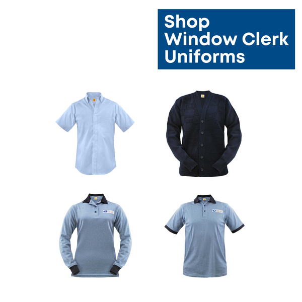 postal uniforms - window clerks & retail operations
