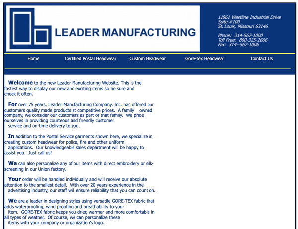 leader manufacturing