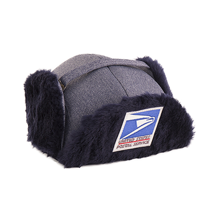 postal uniforms - knit fur winter cap/hat